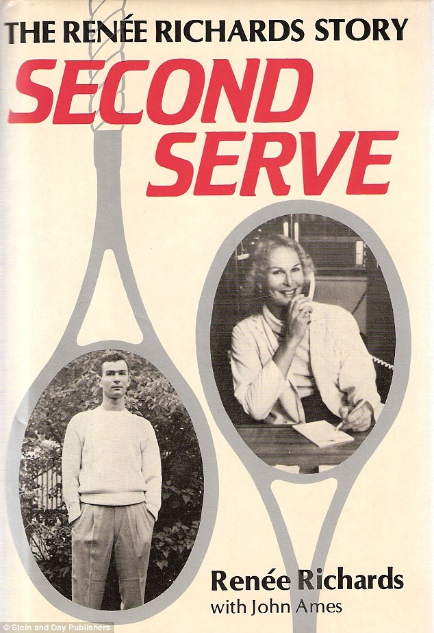 Textbook transition: It's suggested that Bruce was greatly influenced by Richards' life story as outlined in her 1983 autobiography Second Serve.