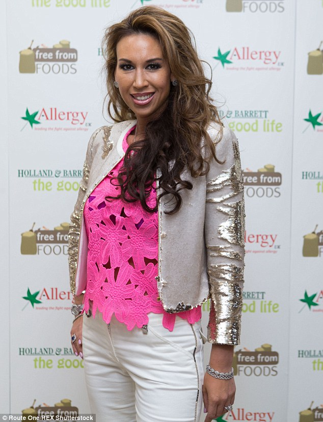 Special guest: Real Housewives Of Cheshire's Ampika Pickston was also among the invited guests