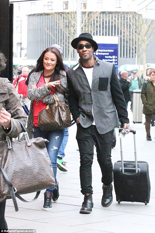 His new One Love? Jess recently  fuelled romance rumours with Simon Webbe when they were spotted looking rather cosy during an outing in London