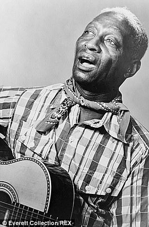 Blues singer Lead Belly