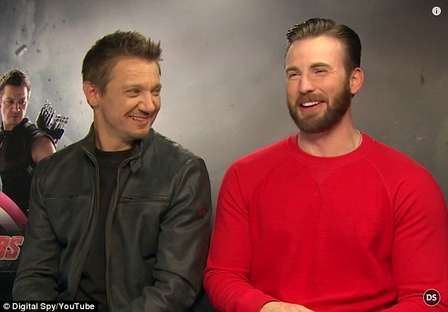 Promotional tour: Jeremy and Chris were drumming up publicity for Avengers: Age Of Ultron ahead of its May 1 release, and Jeremy said in his apology that it had been 'exhausting' and 'tedious'