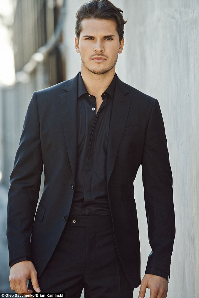 Newcomer: Gleb Savchenko, who was born in Russia, has been dancing since he was eight years old when he started lessons in his home town of Moscow
