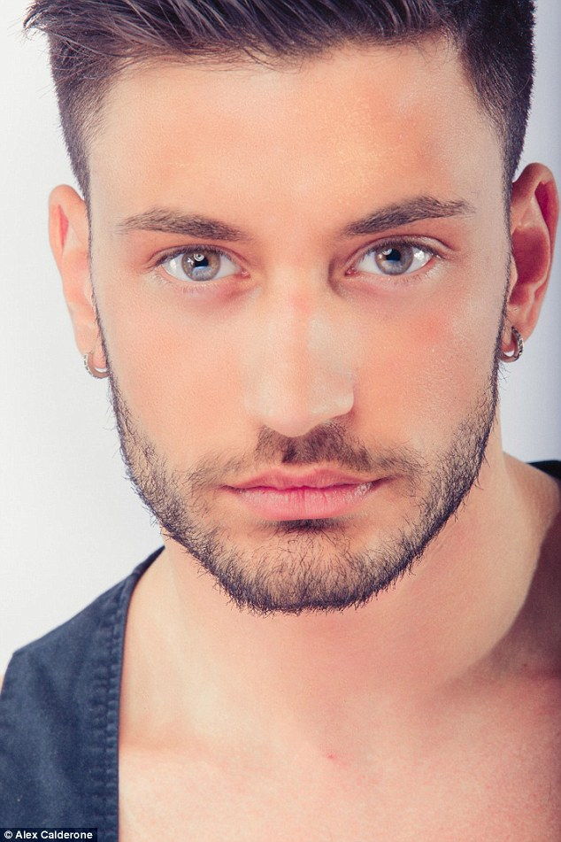 Excited: Giovanni Pernice is very much looking forward to moving to the UK and joining the show which has been a dream of his for many years