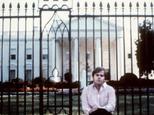 John Hinckley, the attempted assassin of US President Ronald Reagan, in Washington, D.C. on March 30, 1981
