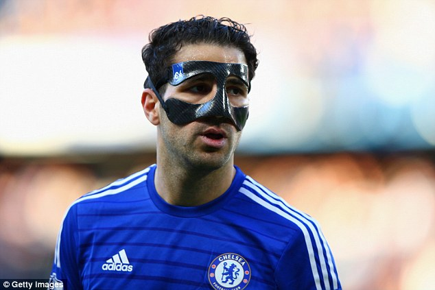 The 27-year-old is expected to wear a protective mask when he travels to north London this weekend