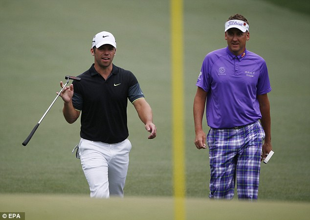 Poulter, accompanied by fellow Englishman Paul Casey, finished tied sixth at the US Masters