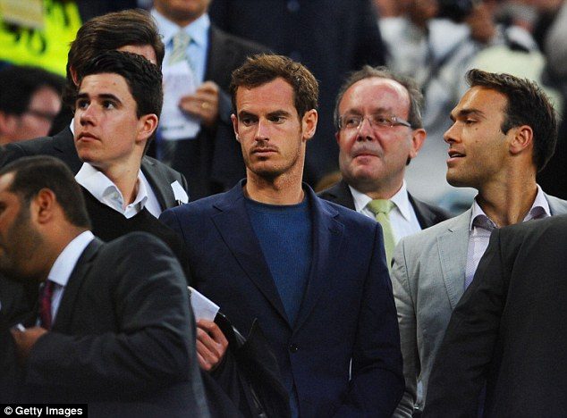 It was the second time in less than a week that Murray had visited the Nou Camp after attending on Saturday