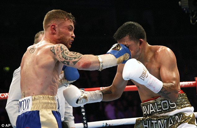 Carl Frampton's team failed to make an offer to fight Quigg, according to his promoter Hearn