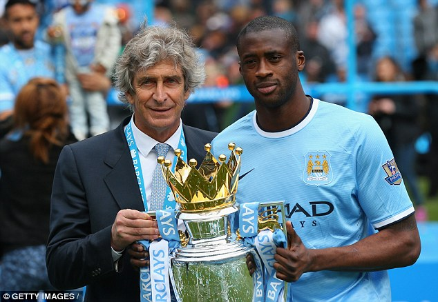 Toure's time at City is defined as a success, bringing two Premier League titles to the Etihad