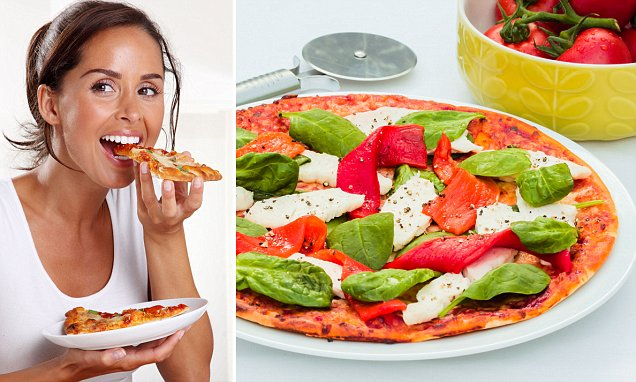 'Fat busting' pizza contains FIVE times less carbs than a standard slice