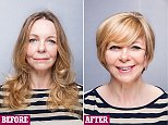 life&style elsa McAnolan makeover monday sue caries long to short before