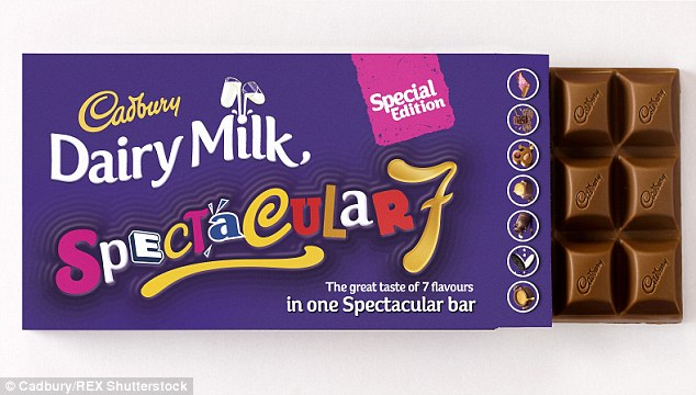 For the first time in 100 years, Cadbury's is set to release a super bar containing seven different fillings