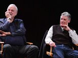 NEW YORK, NY - APRIL 24:  John Cleese and Michael Palin attend the Monty Python Press Conference during the 2015 Tribeca Film Festival at SVA Theater on April 24, 2015 in New York City.  (Photo by Stephen Lovekin/Getty Images for the 2015 Tribeca Film Festival)