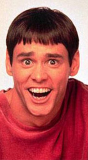 Jim Carrey's Lloyd Christmas in Dumb and Dumber