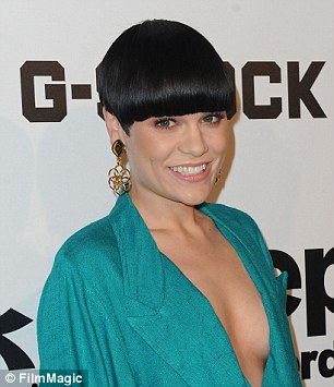 Jessie J went for a very blunt version in early 2014