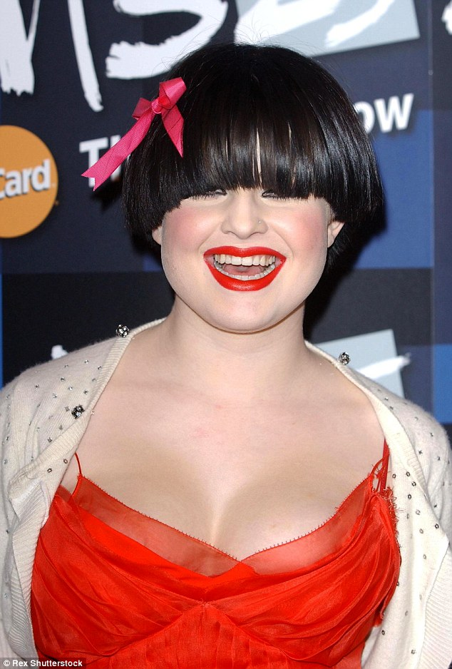 Style icon Kelly Osbourne wore a bowl cut for years, including here in 2005