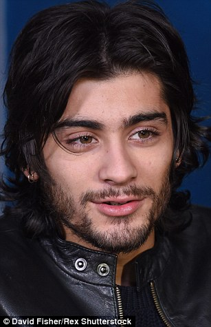 Johnny Depp and Zayn Malik have both been spotted out and about with curtains
