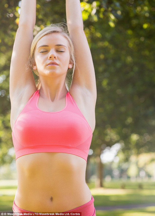Putting the O in yoga: A study has found 20 per cent of women have experience an orgasm through certain yoga positions