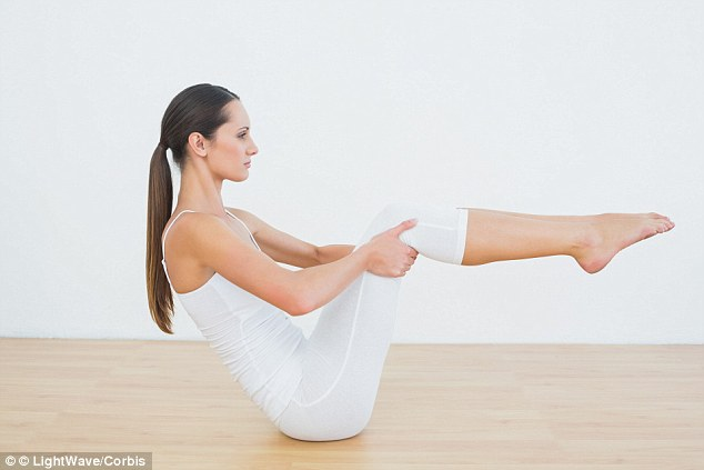 Rock the boat: This pose is said to shake things up in the bedroom