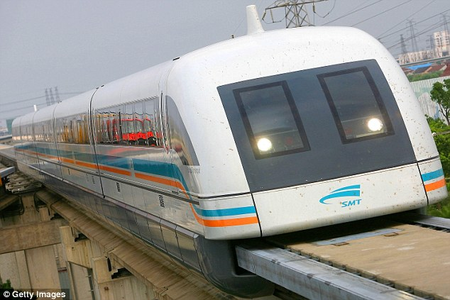 Owner Central Japan Railway plans to have a train in service in 2027 to join Tokyo and Nagoya - a distance of 177 miles (286km). The speeds, however, won't be as high when the new line comes into service.According to engineers, the trains will travel at 314mph (505km/h) - but this will cut the journey time by more than half