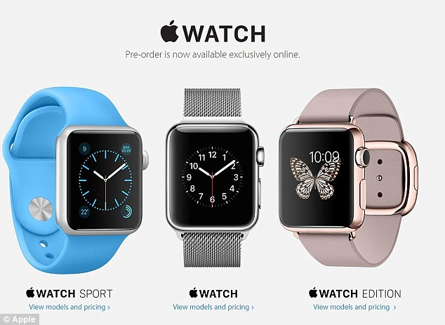 Online pre-orders began on Friday at 12.01am PDT (8am BST) and although Apple said the devices will ship on 24 April within just an hour this had been pushed back to June. Buyers also reported the site was still down after the launch time, forcing them to order the device through the Apple App Store app