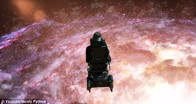 British physicist Stephen Hawking has sung Monty Python's Galaxy Song (clip from the video shown). The song is being released digitally and on vinyl for Record Store Day 2015. It is a cover of the song from 1983 film Monty Python's Meaning of Life. Professor Hawking, 73, appeared on film alongside Professor Brian Cox