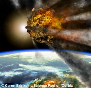 Meteor impacts contributed to wiping out species during mass extinction events on Earth