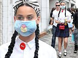 Mandatory Credit: Photo by Okauchi/REX Shutterstock (4706283d)  Katy Perry  Katy Perry out and about, Harajuku, Tokyo, Japan - 24 Apr 2015