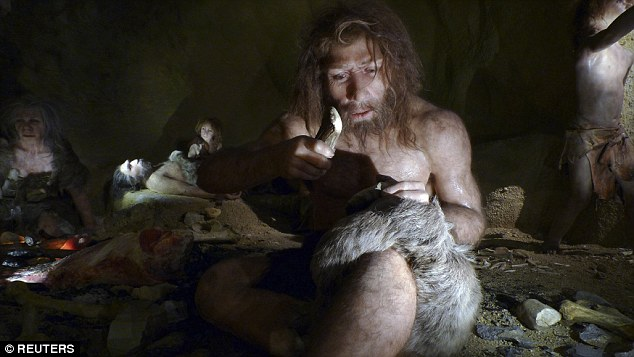 Scientists believe the first complex conversation between humans gradually took place around 50,000 to 100,000 years ago. Much of it, they believe, still involved cavemen grunting, or hunter-gatherers mumbling and pointing, before learning to speak in a detailed way