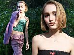 Lily Rose Depp for Oyster MAgazine\nPlease link back to: http://www.oystermag.com/introducing-lily-rose-depp-shot-by-dana-boulos\n\nThe photographer is Dana Boulos \n
