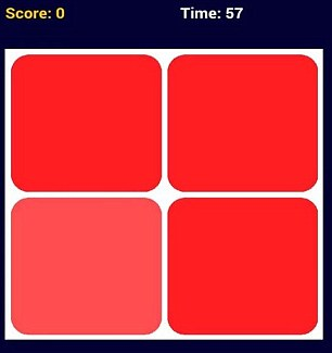 Although the game appears relatively simple, and starts with a board of just four coloured squares