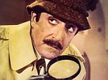 Film....'Return of the Pink Panther'(1974) Peter Sellers as Inspector Clouseau  magnifying glass.