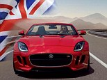 Best of British: The new Jaguar F-Type was unveiled at the Paris Motor Show last week and will be built in Britain