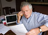 Hefty: Pensioner households spend more than £10,000-a-year on basic living costs.