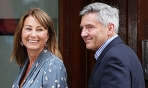 """Carole Middleton """"Very Happy,"""" Gets Blowout Before Kate Middleton Goes Into Labor With Second Royal Baby"""