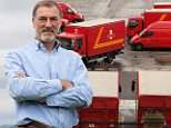 Cash delivery: Investor Douglas Rae. Royal Mail shareholders are due to receive dividend payments