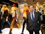 Marks & Spencer boss Marc Bolland AFP/GETTY IMAGES