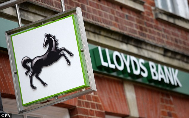 Sold: The Treasury has sold another chunk of its stake in Lloyds Banking Group, taking its holding in the bailed-out lender down to 20.95 per cent