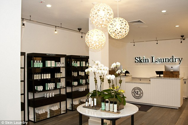 Booming business: The New York location is the sixth for Skin Laundry, which also has clinics in California and Arizona