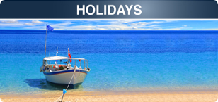 Mail travel holidays