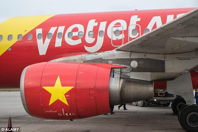 The Vietnamese woman was set to bound  VietjetAir flight to the capital city of Hanoi