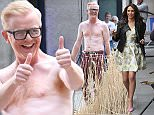 Picture Shows: Chris Evans  April 24, 2015    British presenter Chris Evans spotted topless while filming 'The One Show' at BBC Studios in London.    Non-Exclusive  WORLDWIDE RIGHTS    Pictures by : FameFlynet UK © 2015  Tel : +44 (0)20 3551 5049  Email : info@fameflynet.uk.com