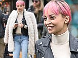 Picture Shows: Nicole Richie  April 24, 2015\n \n TV personality Nicole Richie is spotted filming scenes for her TV show 'Candidly Nicole' at the Americana in Glendale, California. It is being reported that Nicole's show isn't doing very well in the ratings and VH1 execs are begging her to add more celebrity guests like her father Lionel Richie or husband Joel Madden to help boost interest in the series. \n \n Non-Exclusive\n UK RIGHTS ONLY\n \n Pictures by : FameFlynet UK © 2015\n Tel : +44 (0)20 3551 5049\n Email : info@fameflynet.uk.com