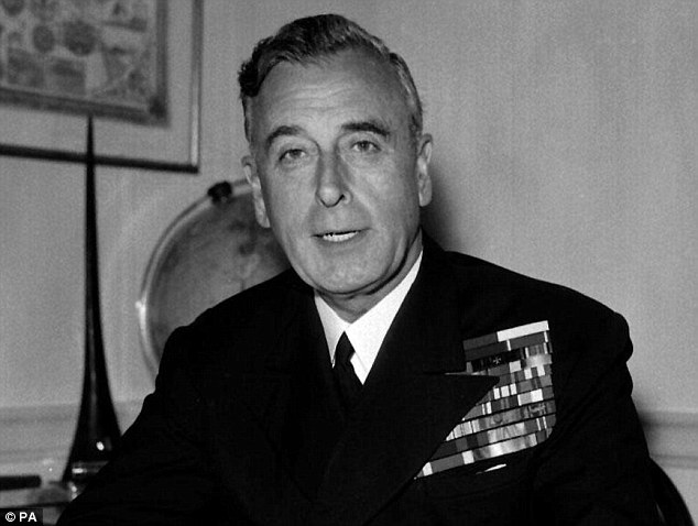 Death: Lord Louis Mountbatten, a second cousin to the Queen and great-uncle to Prince Charles, was murdered by the IRA in 1979