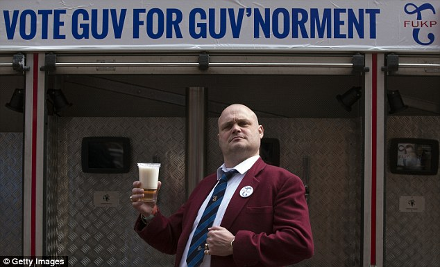 Among several joke candidates for the seat is the comedian Al Murray, who is standing as his Pub Landlord alter-ego