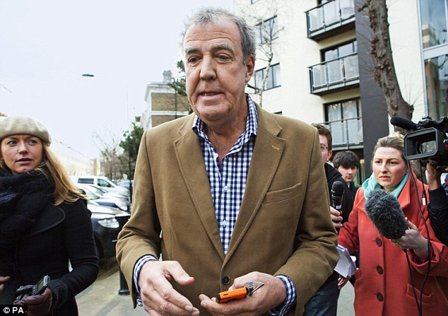 Jeremy Clarkson says a doctor found 'a possibly cancerous lump' on his tongue two days before his 'fracas' with a producer