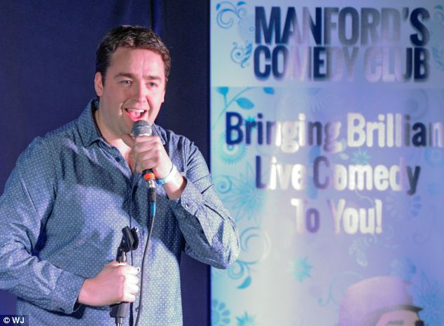 Comedian Jason Manford, pictured, was one of the many celebrities that campaigned on Stephen's behalf, sending his fundraising total through the roof. Others include Jimmy Carr and Roger Daltrey
