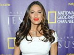 """NEW YORK, NY - MARCH 23:  Amber Marchese attends the red carpet event and world premiere of National Geographic Channel's """"Killing Jesus"""" at Alice Tully Hall on March 23, 2015 in New York City.  (Photo by Brad Barket/Getty Images for National Geographic Channel)"""