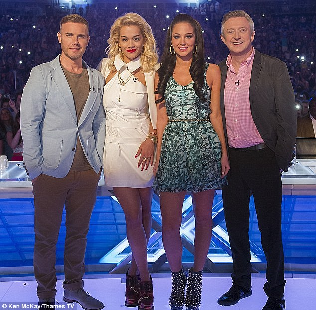 Previous appearance: Rita acted as a guest judge on The X Factor back in 2012, alongside Gary Barlow, Tulisa Contostavlos and Louis Walsh