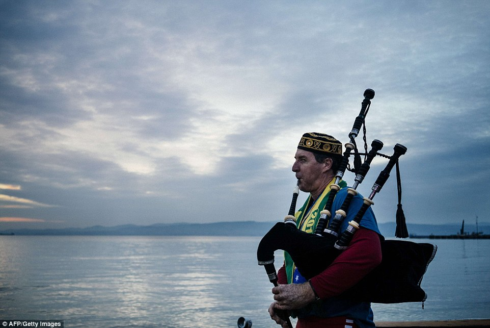 Emotional tribute: April 25, the day of the Gallipoli landings, is marked by Australians and New Zealanders each year as ANZAC day